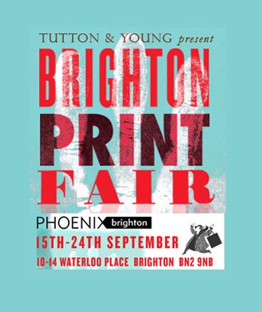 Brighton Print Fair poster