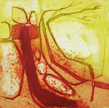 collagraph by Catherine Headley