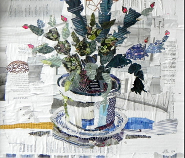Still Life - Ripped Paper Workshop With Danielle Vaughan