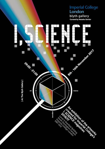 I, Science magazine exhibition poster