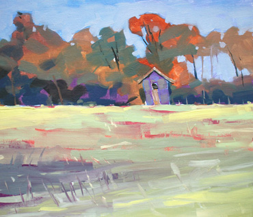 Wistow Landscape Oil Painting Workshop - Jane French