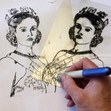 Introduction image for FREE LSA WORKSHOP - 'Scratch & Print' drypoint printing with Jo Sheppard