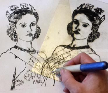 FREE LSA WORKSHOP - 'Scratch & Print' drypoint printing with Jo Sheppard