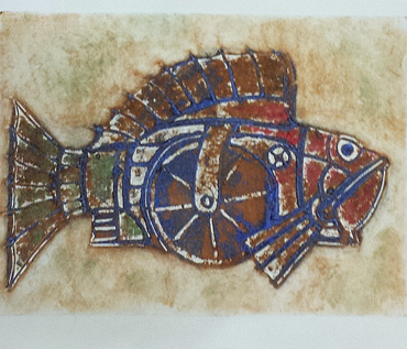 Collagraph Printmaking Workshop - Quorn Art Group