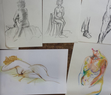 Introduction to Life Drawing Workshop - Quorn Art Group