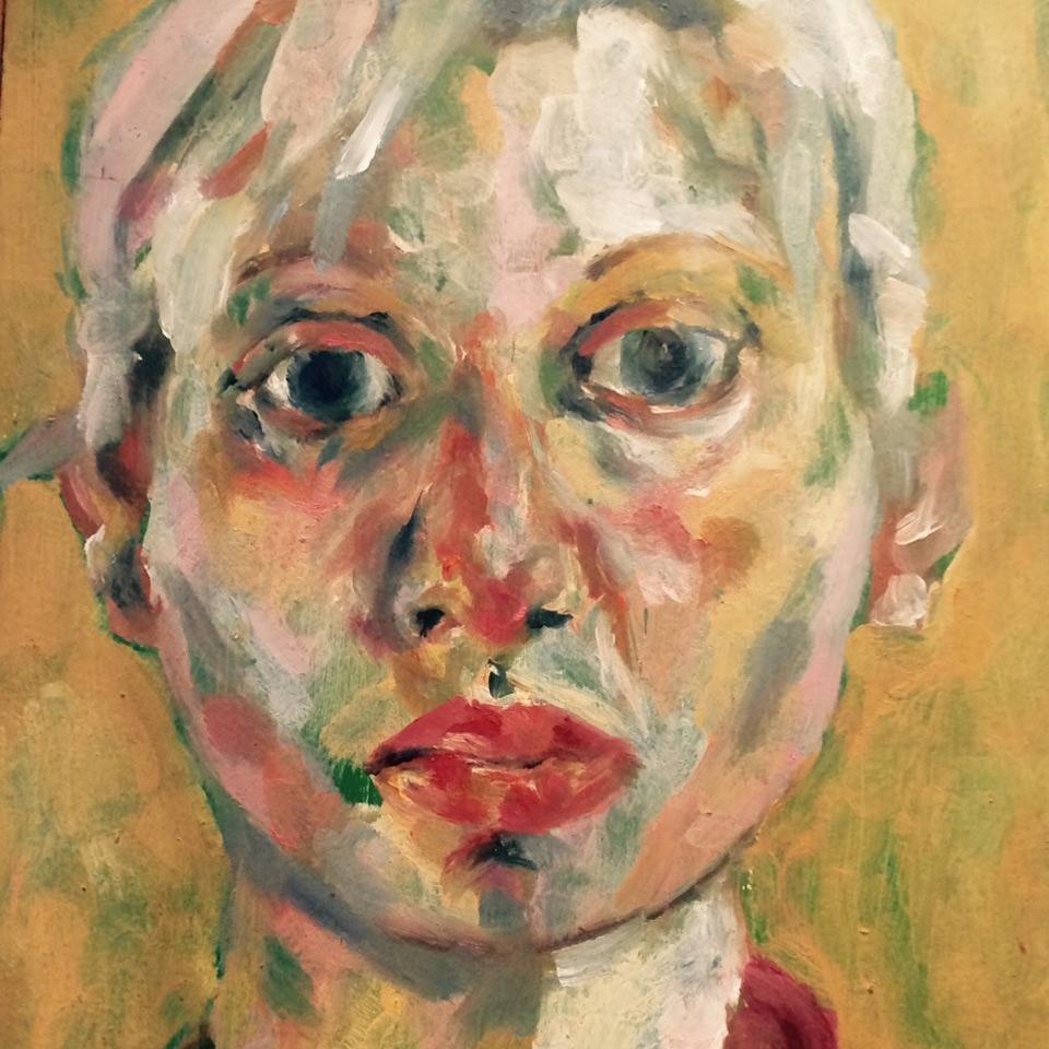 Portrait by Maria Collingham