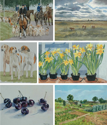 Paintings by Mary Rodgers