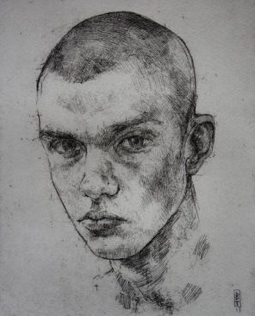 portrait by member of Royal society of Portrait Painters