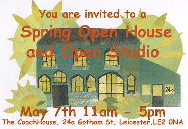 Poster for Open House/Open Studio