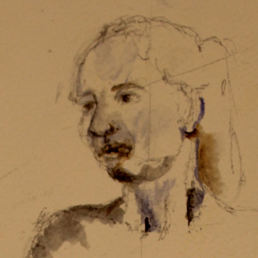 Portrait by Christine Johnson-Hume