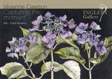 Poster for Vivienne Cawson exhibition