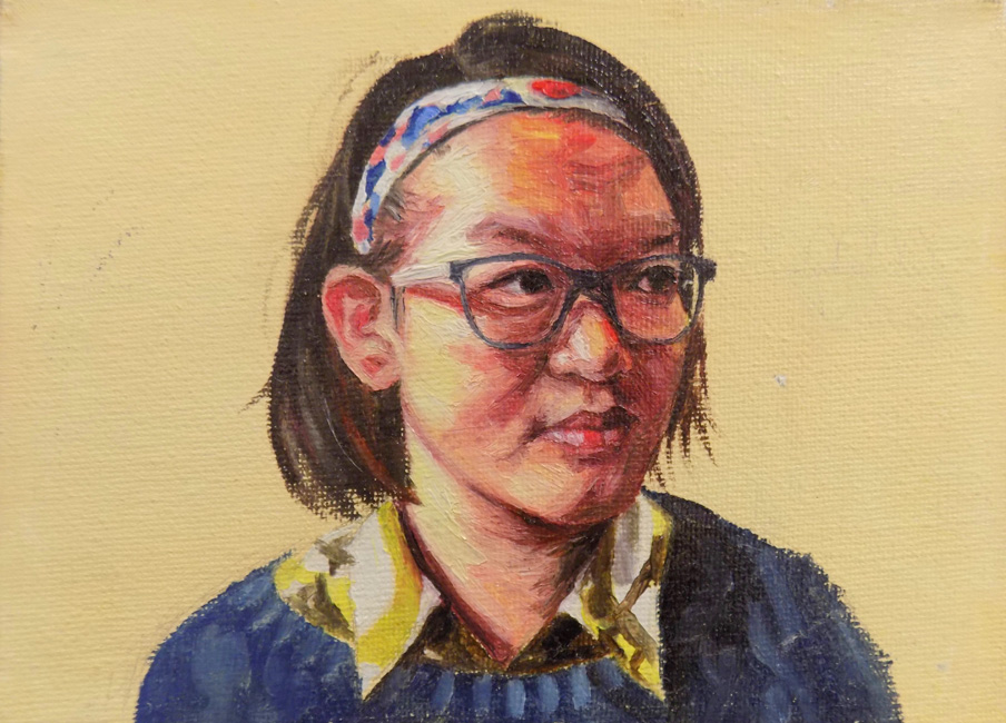 Painting by Yuanqing Zhang