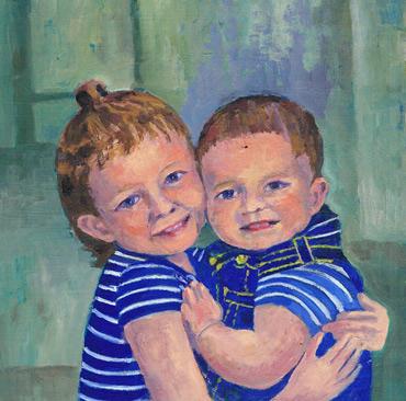 Thumbnail image of John Nixon - LSA member - Little Selves - Browse Artworks A-Z