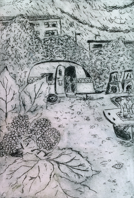Drawing by Jane Sunbeam