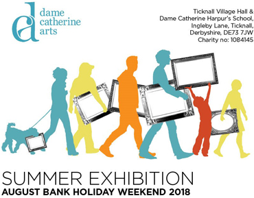 Dame Catherine Arts poster