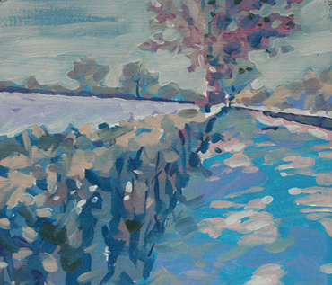Winter Landscape Oil Painting Workshop - Jane French