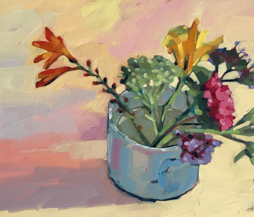 Flowers Oil Painting Workshop - Jane French