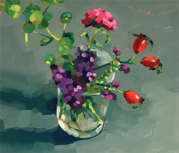 'Mini Still Life'  Oil Painting Workshop - Jane French