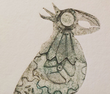 Collagraph Printing Workshop - Jo Sheppard