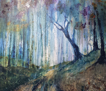 Mixed Media Landscapes Workshop - Jo Sheppard