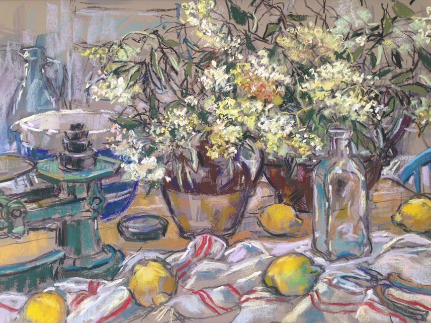 Thumbnail image of Sue Sansome, 'Elderflower Cordial' - Leicester Sketch Club Annual Exhibition