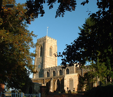 Photograph of St Peter's church