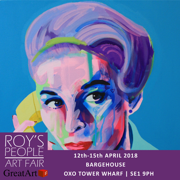 Poster for Roys People Art Fair