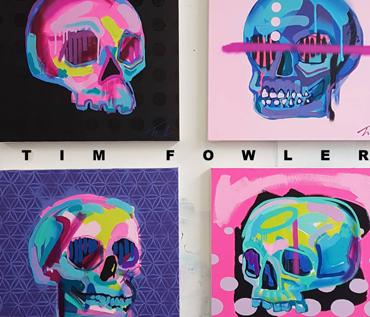 Memento Mori - 100 Skulls | Tim Fowler