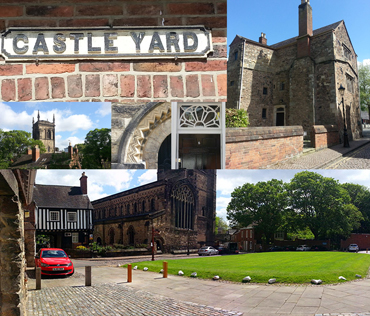 Introduction image for Urban Sketchers Leicester - Let's Draw Castle Yard