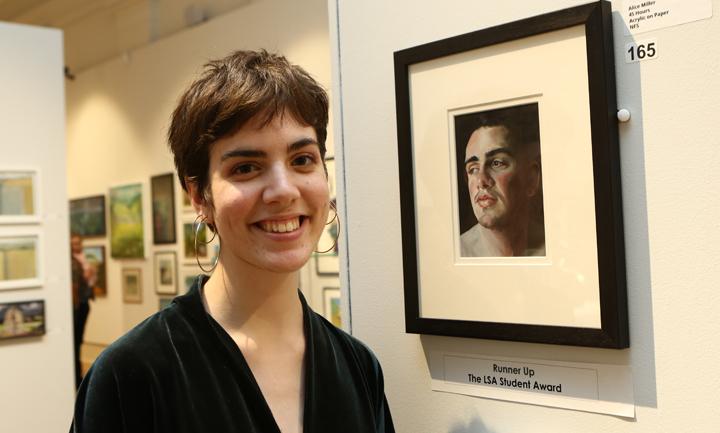 Photograph of LSA Student Award 2018 runner up Alice Miller