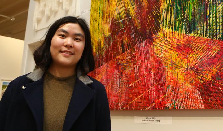 LSA student prize winner Da Hyoung Choi