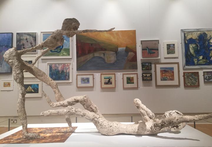 sculpture by LSA Student Award 2018 Runner Up Lis Naylor