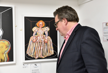 Thumbnail image of Lars Tharp looks at 'Gloriana 2' by Phil Redford - Beyond Words: An Exploration Of Art And The Written Word