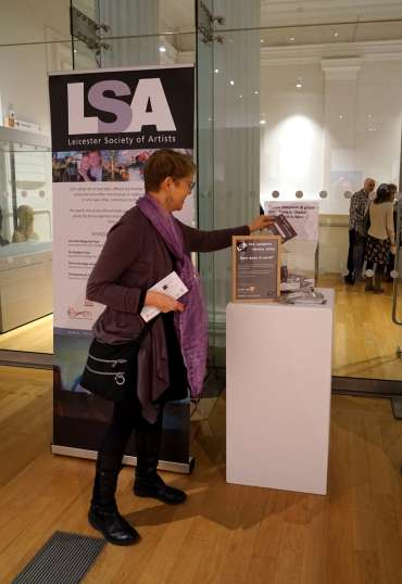 Thumbnail image of Voting for the 'On the Edge Framing Prize' . . . please add your vote when you visit the exhibition! - LSA Annual Exhibition 2019