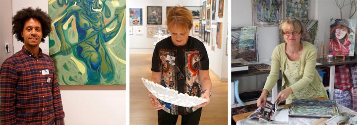 three LSA artists
