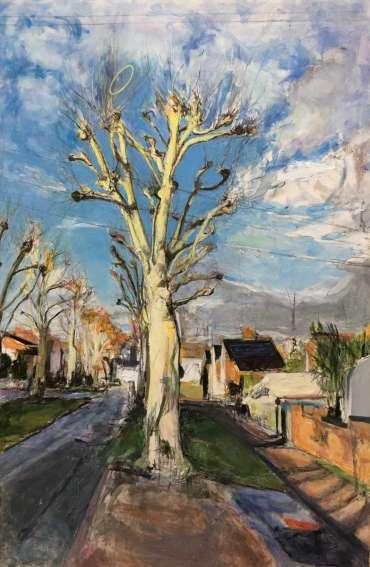 Thumbnail image of Deborah Ward, 'Saffron Hoop Pollard' - A sample of artworks in LSA Annual Exhibition 2019