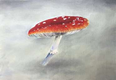 Thumbnail image of Jane Domingos, 'Fly Agaric II' - A sample of artworks in LSA Annual Exhibition 2019