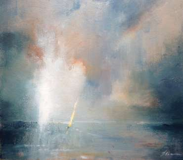 Thumbnail image of Linda Sharman, 'Yellow Sail' - A sample of artworks in LSA Annual Exhibition 2019