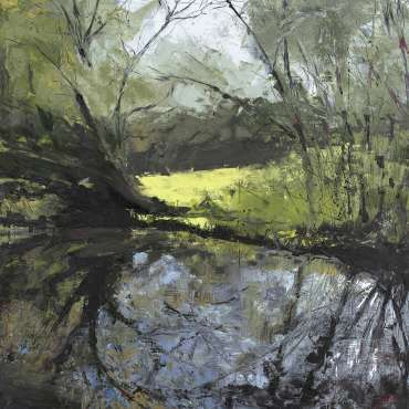 Thumbnail image of Lisa Timmerman, 'Trees but no Swans' - A sample of artworks in LSA Annual Exhibition 2019