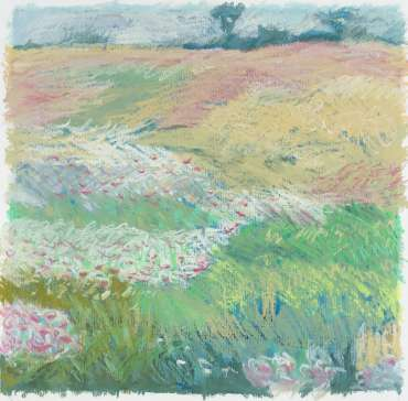Thumbnail image of Margaret Chapman, 'Brocks Hill Meadow' - A sample of artworks in LSA Annual Exhibition 2019