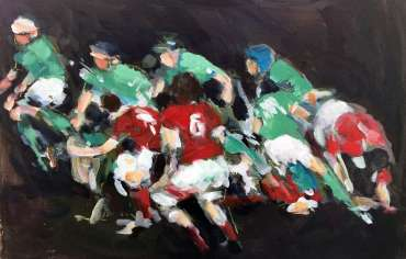 Thumbnail image of Maxine Dodd, 'Breakaway' - A sample of artworks in LSA Annual Exhibition 2019