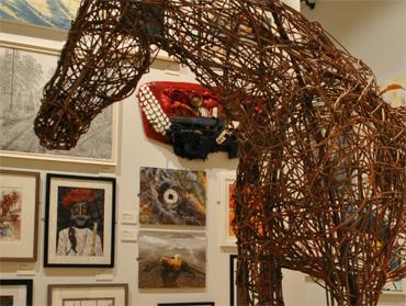 The Open Exhibition - photograph