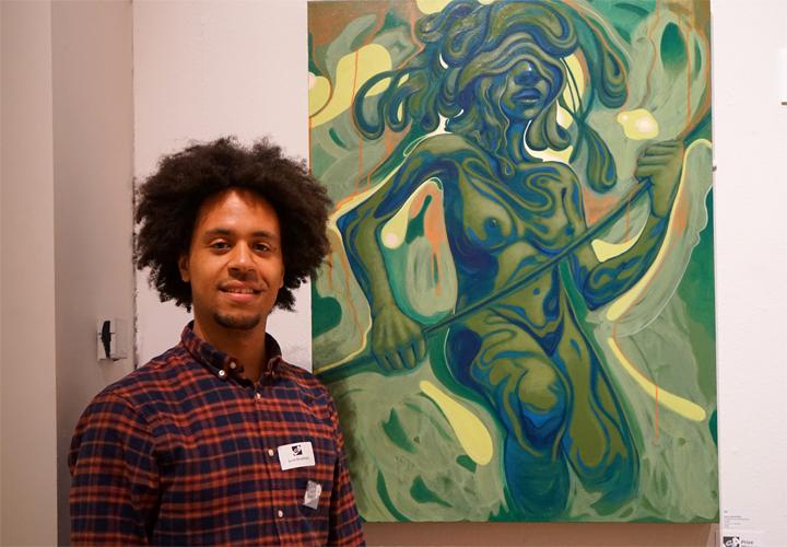Award winning painter Jarvis Brookfield