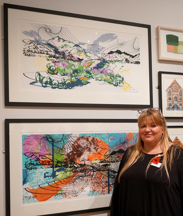 LSA Prizewinner Sue Clegg