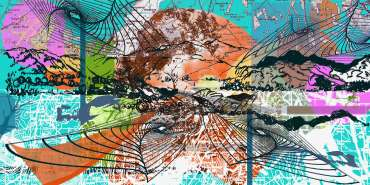 Thumbnail image of Sue Clegg, 'Remembered Landscapes 2' - A sample of artworks in LSA Annual Exhibition 2019