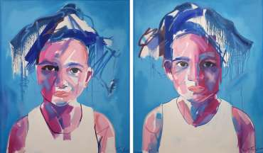 Thumbnail image of Tim Fowler, 'Indigo Mai' and 'Iylah Rose' - A sample of artworks in LSA Annual Exhibition 2019