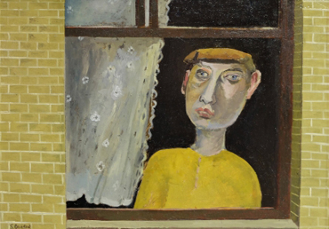 Simon Quadrat, Man at Window