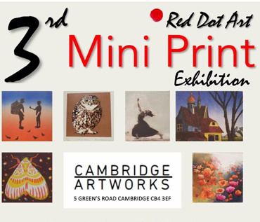 3rd Red Dot Art Mini Print Exhibition