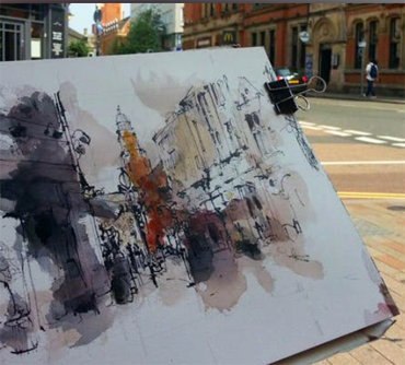 City Sketching: Line and Movement - Emma Fitzpatrick workshop