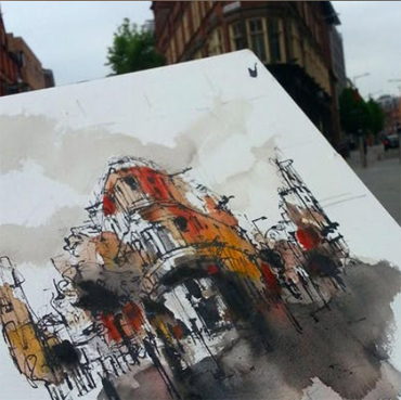 City Sketching: Values - Emma Fitzpatrick workshop
